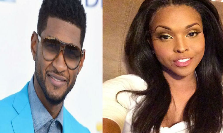 Usher and Amiyah Scott were dating